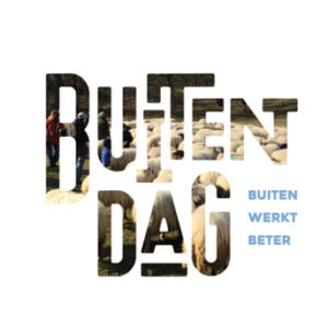 logo van Buitendag met schaapskudde